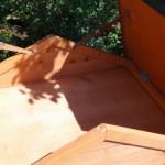 Stauraum im dach kaninchenstall