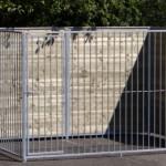 Hundezwinger mit Tür 2x3m
