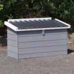 Legenest Budget white-grey mit kunststof dach