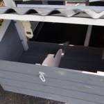 Kaninchenstall Budget White-Grey
