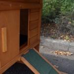 Öffnung schlafteil Hühnerstall