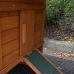 Kaninchenstall mit abschließbar Auslaufbereich