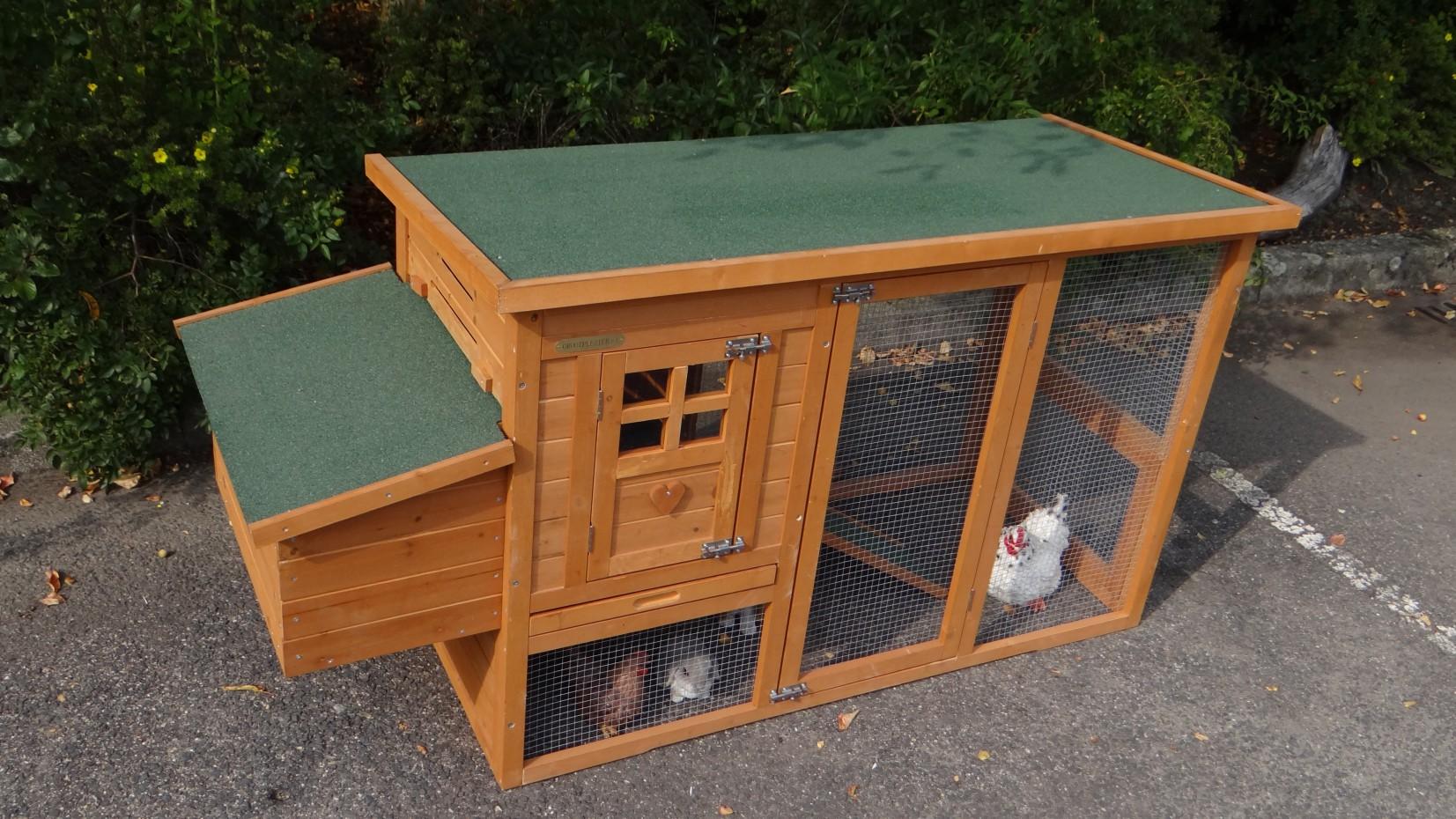 kaninchenstalle budget mit legenest. Black Bedroom Furniture Sets. Home Design Ideas