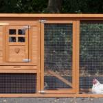 Kaninchenstall Budget mit auslauf
