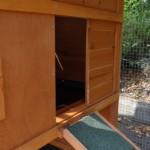 Schlafteil Öffnung Hühnerställe