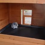 Kaninchenstall mit große schlafteil