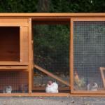 Kaninchenstall Julia mit große türen
