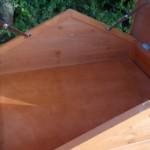Hühnerstall mit stauraum im Dach