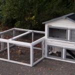 Kaninchenstall Regular Small mit Multirun 211x109x101cm