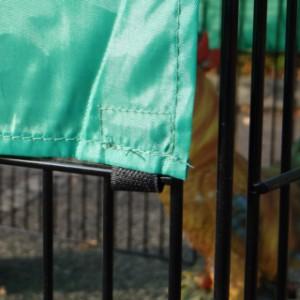 Sonnenschutz für Freilaufgehege