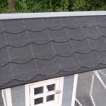 Hühnerstall kaninchenstall mit dachpappe dach