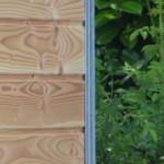 Zwinger mit schönem Holz