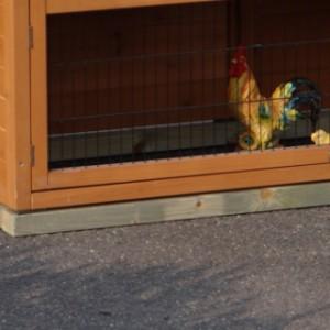 Fundament für Kaninchenstall - Hühnerstall Double Small mit 1 Auslauf