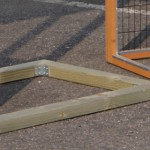 Fundament für Kaninchenstall - Hühnerstall Holiday Medium