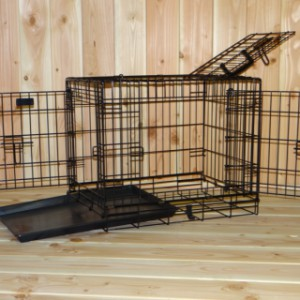 Stabiler Hundekäfig 63cm