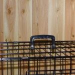 Stabiler Hundekäfig, 124cm