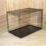 Hundekäfig 136cm mit 3 geräumige türen