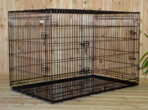 Hundekäfig XXL 136x83x92cm
