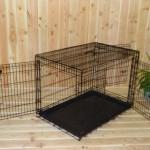 Stabiler Hundekäfig, 109cm