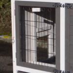 Kaninchenstall Prestige: Plexiglas Isolierplatte für schlafteil