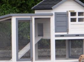 Plexiglas Isolierset für Kaninchenstall Advance