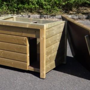 Dach Lose oder Scharnierdach für Hundehütte