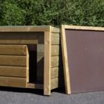 Abnehmbares Dach für Hundehütte