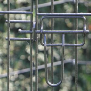 Schweres Kaninchen-Freilaufgehege 8 Paneele Höhe 91cm
