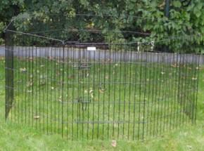 Schweres Kaninchen-Freilaufgehege 8 Paneele Höhe 76cm